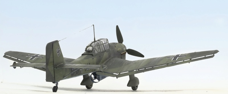 Ju-87B, 1:32, Trumpeter 434