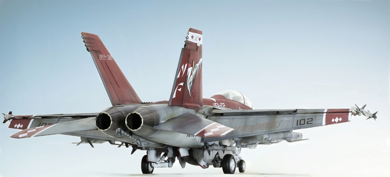 Boeing  F/A-18F Super Hornet Trumpeter 1/32 03205 - Страница 2 528