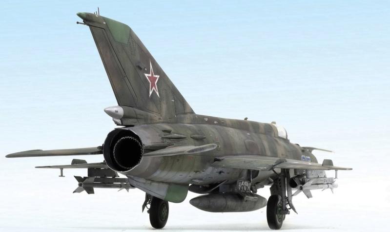 MiG-21МФ 02218 Trumpeter 1/32 533