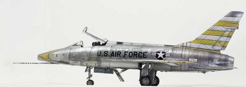 F-100D Super Sabre Trumpeter 1/32. 6-110