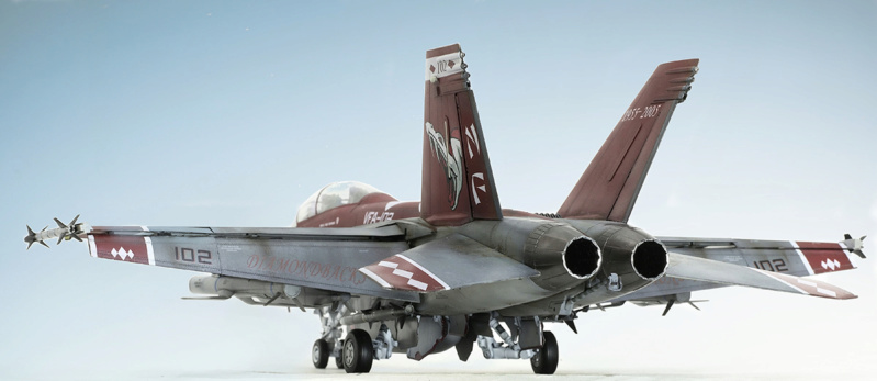 Boeing  F/A-18F Super Hornet Trumpeter 1/32 03205 - Страница 2 626