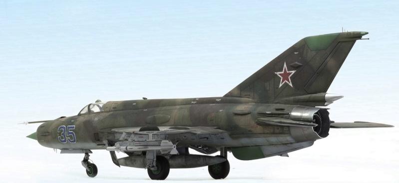 MiG-21МФ 02218 Trumpeter 1/32 631