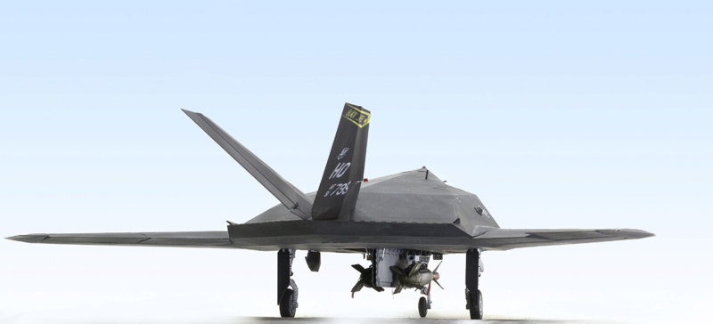 Lockheed F-117 Nighthawk. Trumpeter 1/32. 633