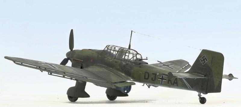 Ju-87B, 1:32, Trumpeter 635