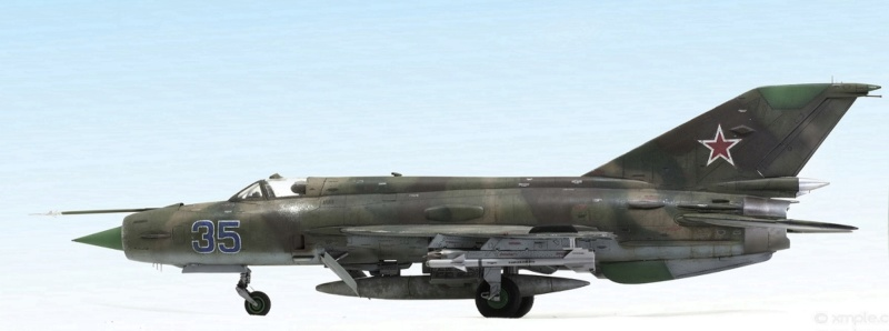 MiG-21МФ 02218 Trumpeter 1/32 733