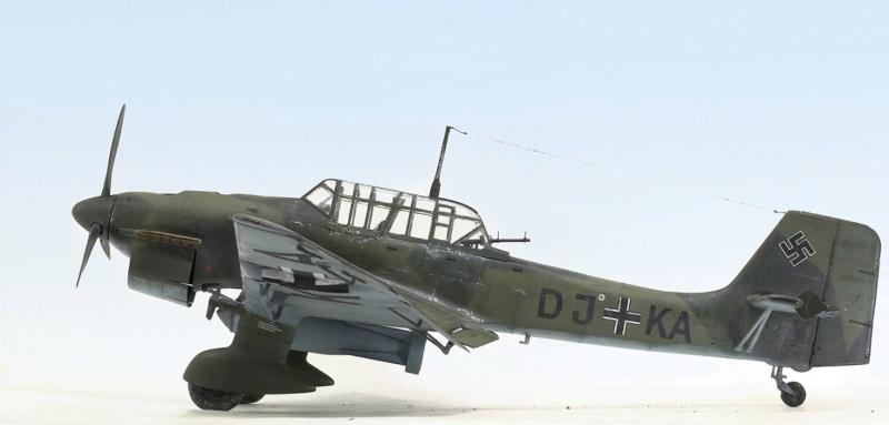 Ju-87B, 1:32, Trumpeter 736
