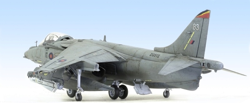 BAe Harrier GR.7 (RAF service) Trumpeter 02287 1/32 740
