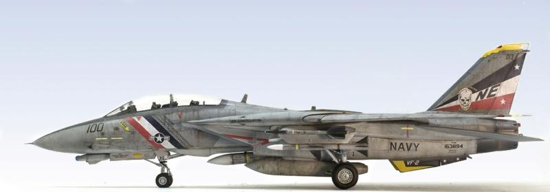 Grumman F-14D Super Tomcat. Trumpeter 03203. 1/32. 744