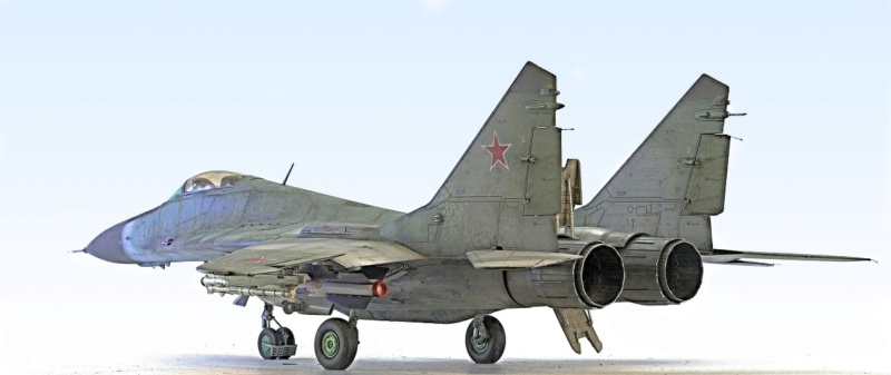 МИГ-29А. Трумпетер 1/32 7_hf12