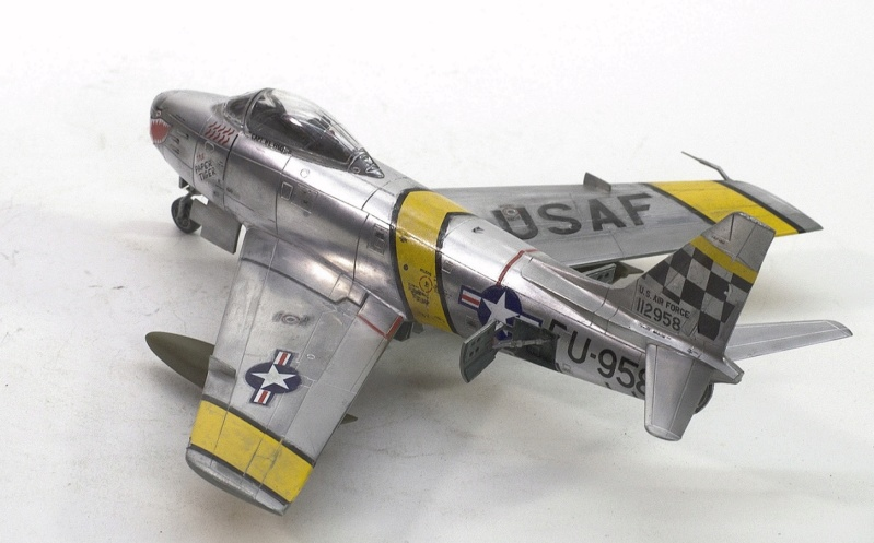 North American F-86F Sabre Jet. Italeri 1/32 825