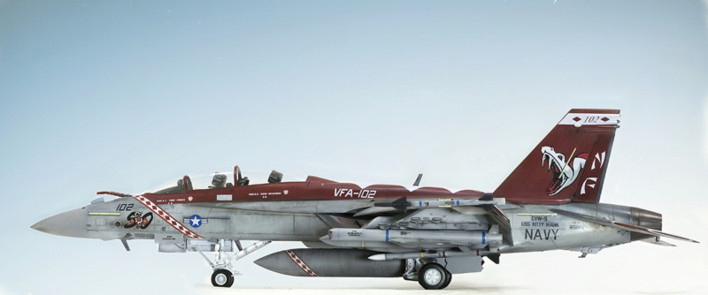 Boeing  F/A-18F Super Hornet Trumpeter 1/32 03205 - Страница 2 826