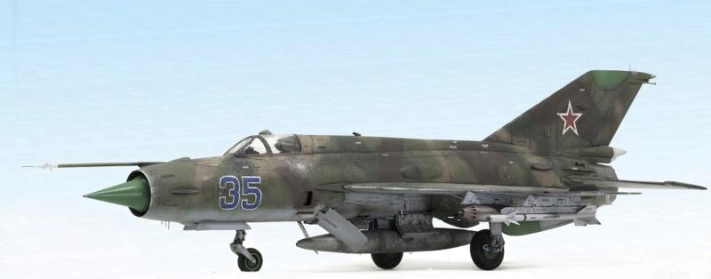 MiG-21МФ 02218 Trumpeter 1/32 832