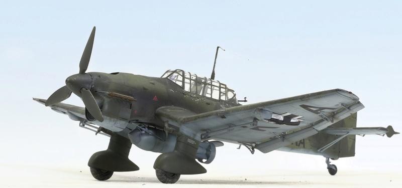 Ju-87B, 1:32, Trumpeter 836