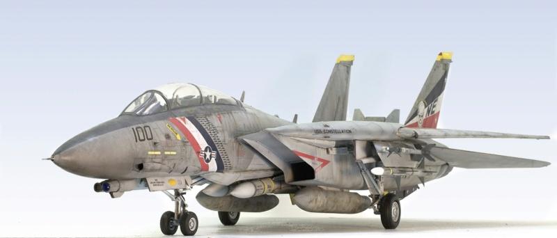 Grumman F-14D Super Tomcat. Trumpeter 03203. 1/32. 844