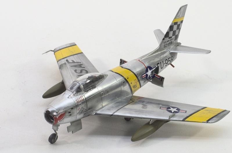 North American F-86F Sabre Jet. Italeri 1/32 926