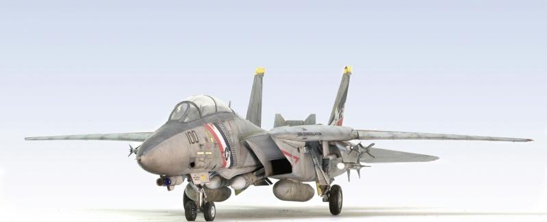 Grumman F-14D Super Tomcat. Trumpeter 03203. 1/32. 942