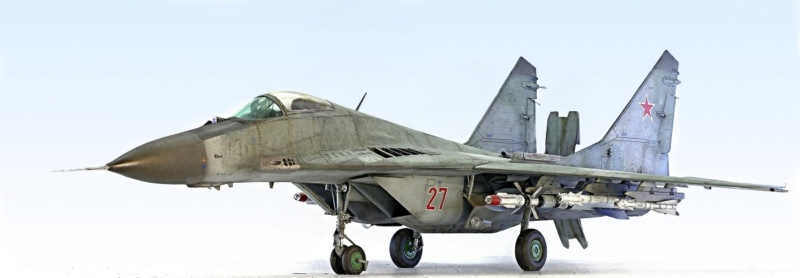 МИГ-29А. Трумпетер 1/32 9_hf12
