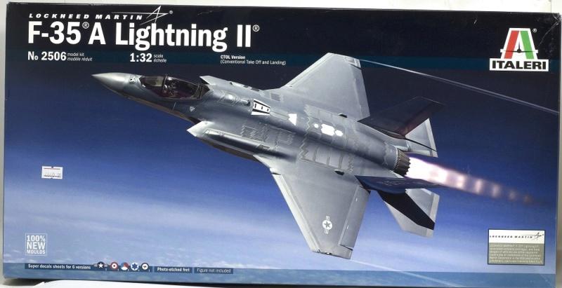 Lockheed Martin F-35 Lightning II. Italeri 1/32. Dsc_0086