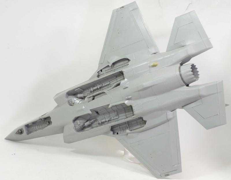 Lockheed Martin F-35 Lightning II. Italeri 1/32. Dsc_0105