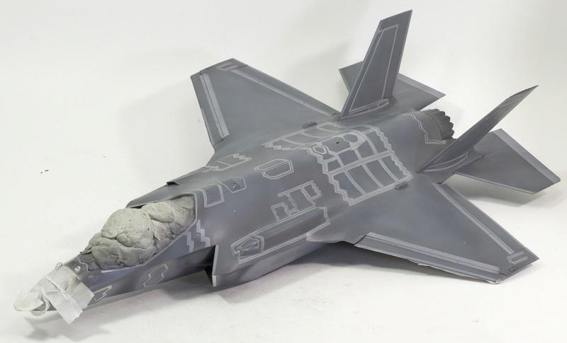 Lockheed Martin F-35 Lightning II. Italeri 1/32. - Страница 2 Dsc_0109