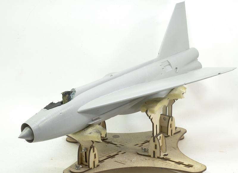Lightning F.Mk.3 Trumpeter 1/32 Dsc_0193
