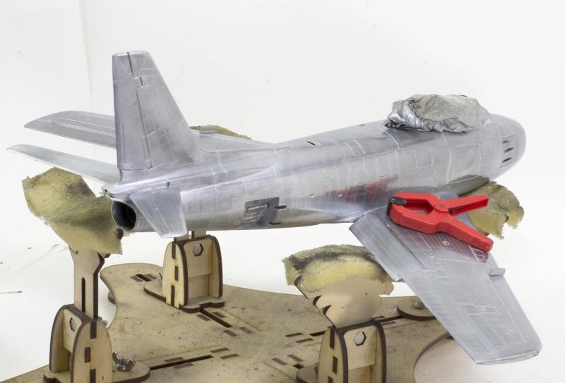 North American F-86F Sabre Jet. Italeri 1/32 Dsc_0235