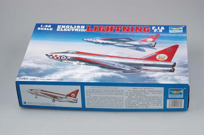Lightning F.Mk.3 Trumpeter 1/32 Model_10