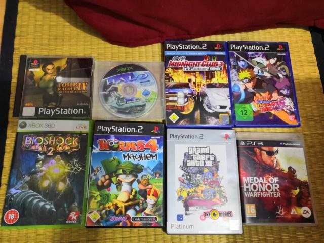 lot 8 jeux allemand ou Anglais PS1 Ps2 PS3 Xbox1 Xbox360 Img_2091