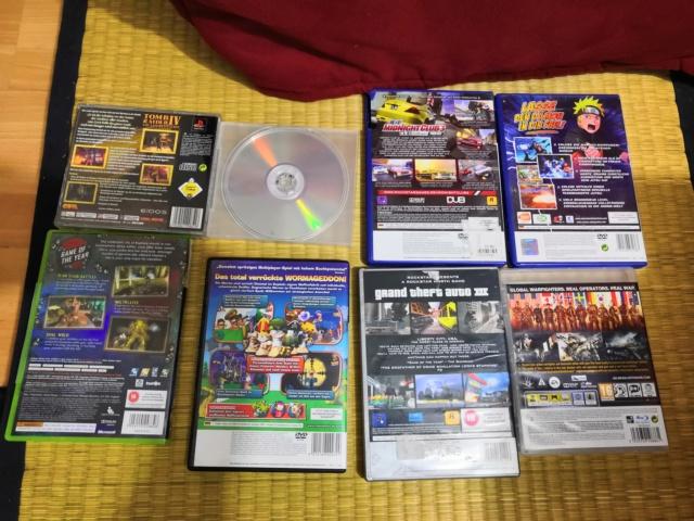 lot 8 jeux allemand ou Anglais PS1 Ps2 PS3 Xbox1 Xbox360 Img_2092