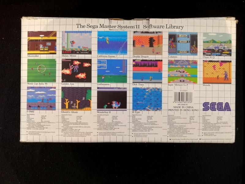 [Vendue] Master System 2 en boite complète TBE + jeux Img_2121