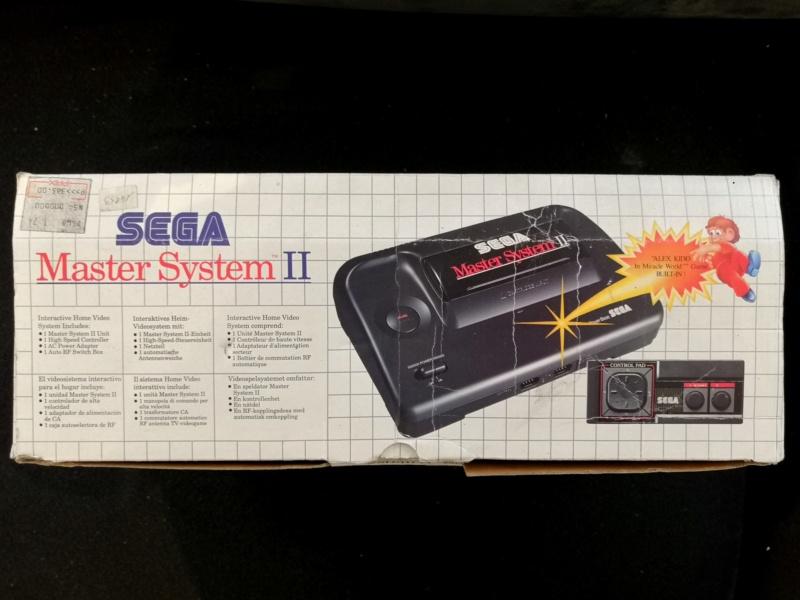 [Vendue] Master System 2 en boite complète TBE + jeux Img_2122