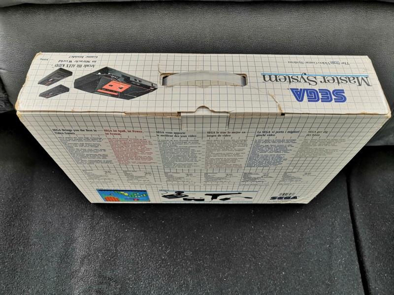 [Vendue] Master System 1 en boite complète TBE + Jeux Img_2162
