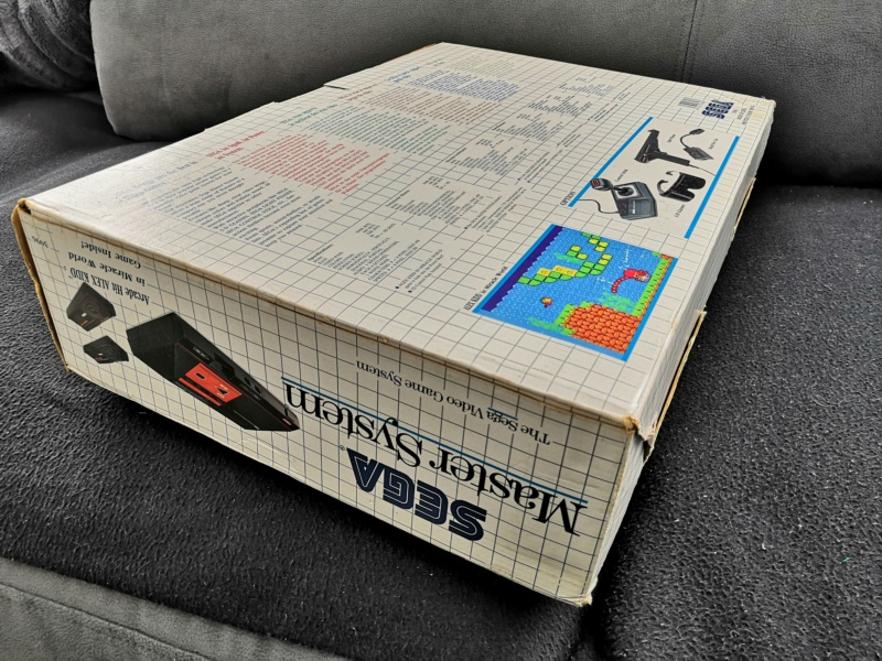 [Vendue] Master System 1 en boite complète TBE + Jeux Img_2163