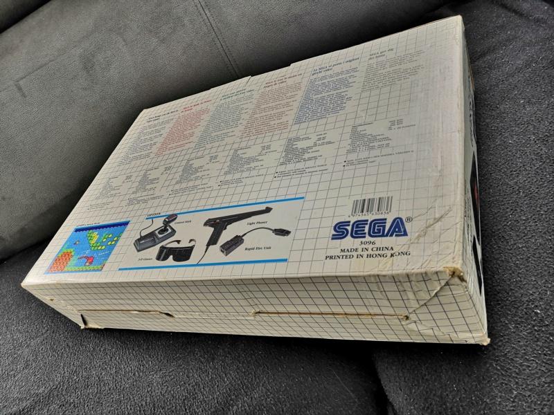 [Vendue] Master System 1 en boite complète TBE + Jeux Img_2164