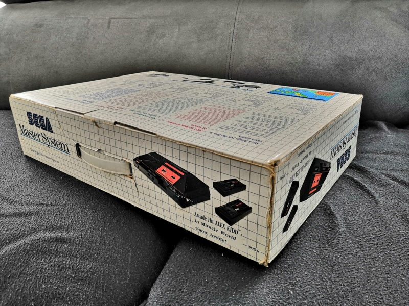 [Vendue] Master System 1 en boite complète TBE + Jeux Img_2165