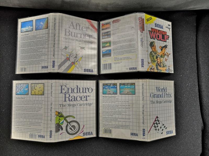 [Vendue] Master System 1 en boite complète TBE + Jeux Img_2175