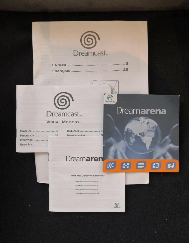 [A Vendre] Dreamcast: Console en boite, Jeux, Manettes et accessoires etc Img_2185