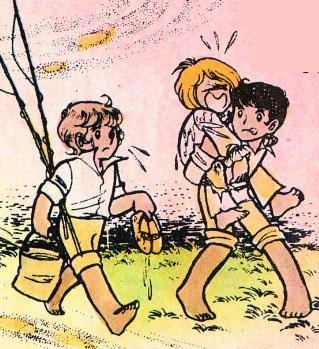"""Desde El Imaginario de Stear, y El Clan Alba Highland's Andrew: """"ENTRE LAS NUBES"""" (Para Stear, Anthony y Archie) Candy_11"""