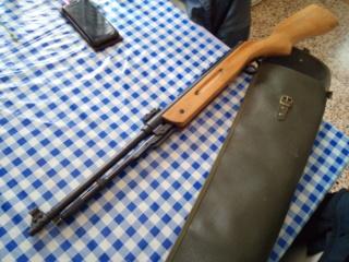 hausse/guidon sur carabine non équipée Img_2131