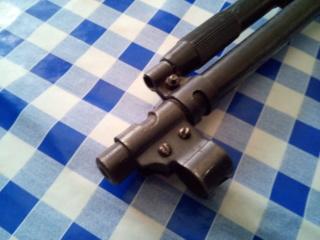 hausse/guidon sur carabine non équipée Img_2132