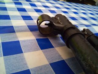 hausse/guidon sur carabine non équipée Img_2133