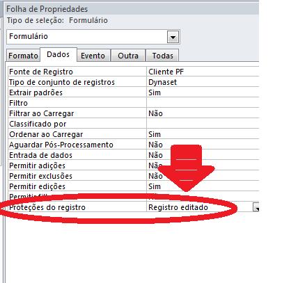 Erro ao acessar formulário através de botão Protec10