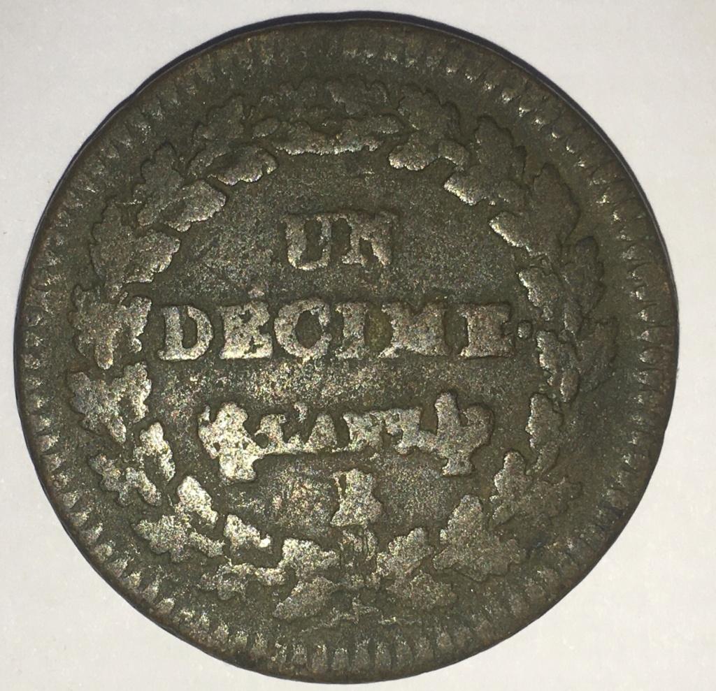 Francia, 1 Décimo de 1798 E413e810