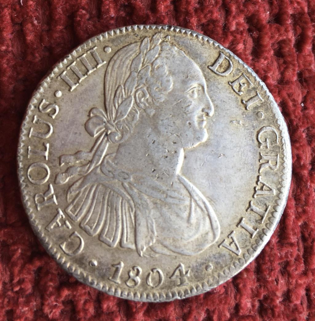 8 Reales 1804. Carlos IV. México. Ayuda para graduar conservación. 1ac0c510