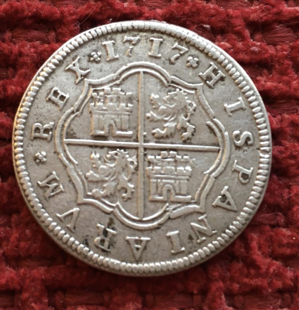 2 reales 1717 Felipe V - Ceca Segovia 1b150e10