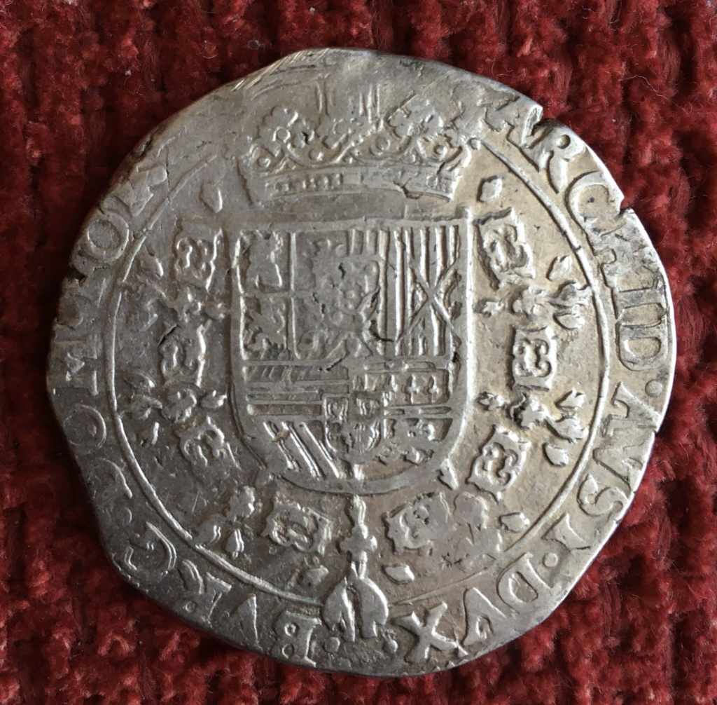 Patagon Felipe IV 1632, Tournais. Dedicada a Lanzarote  25697910
