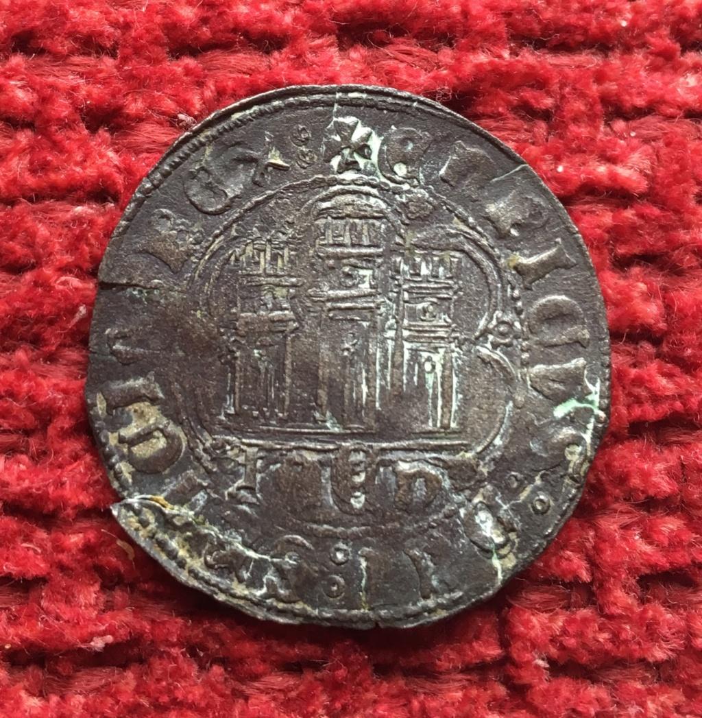 1/4 de real de vellón de Enrique IV (Jaén, 1466-1470). 3a286310