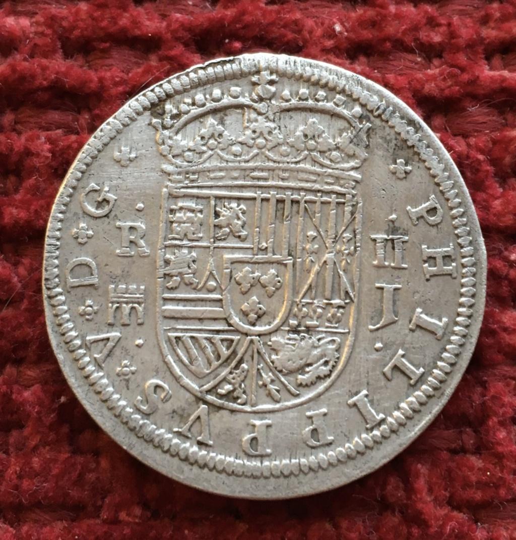 2 reales 1717 Felipe V - Ceca Segovia 59d0c210