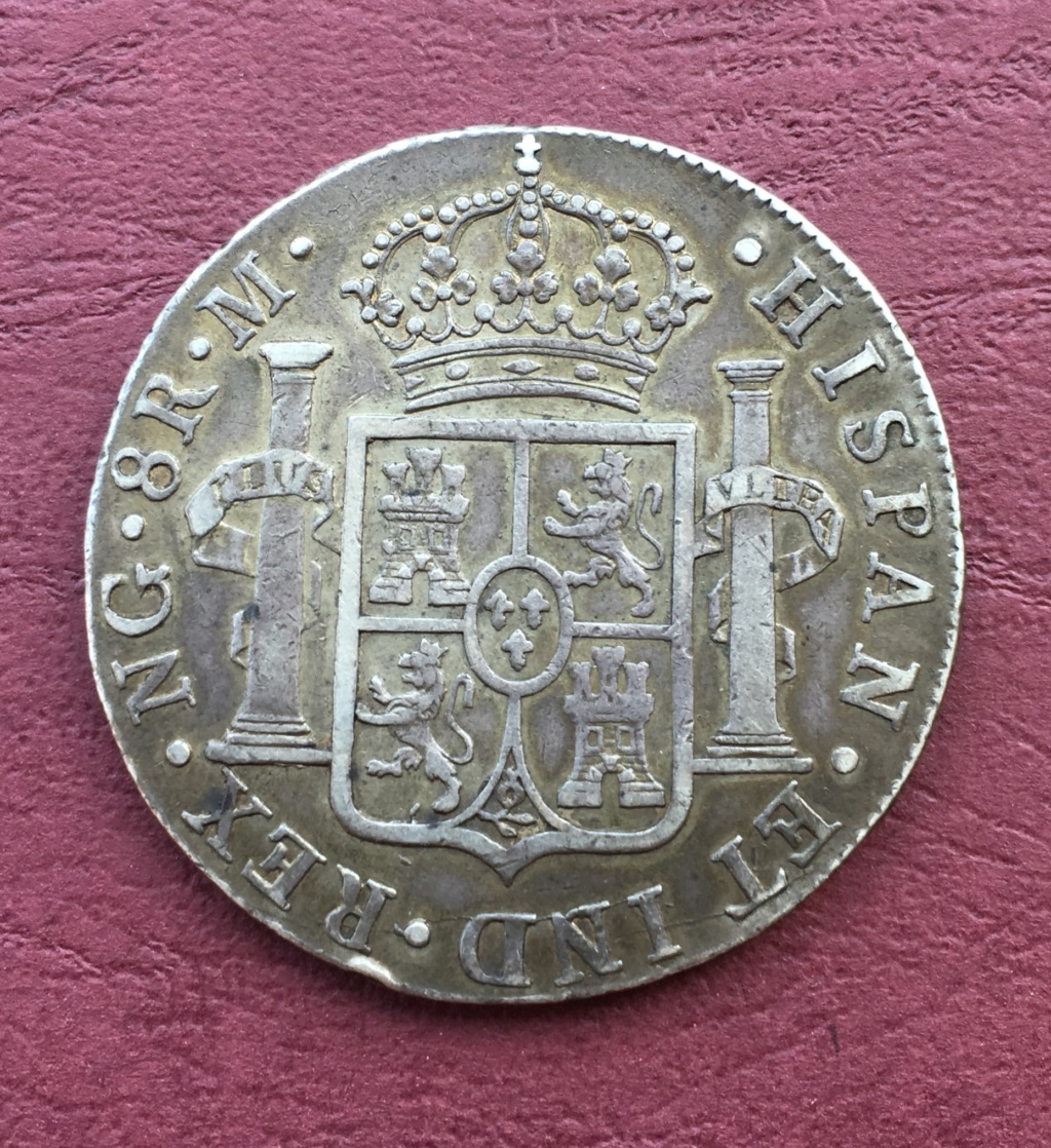8 Reales 1819. Fernando VII. Guatemala  6e95d510
