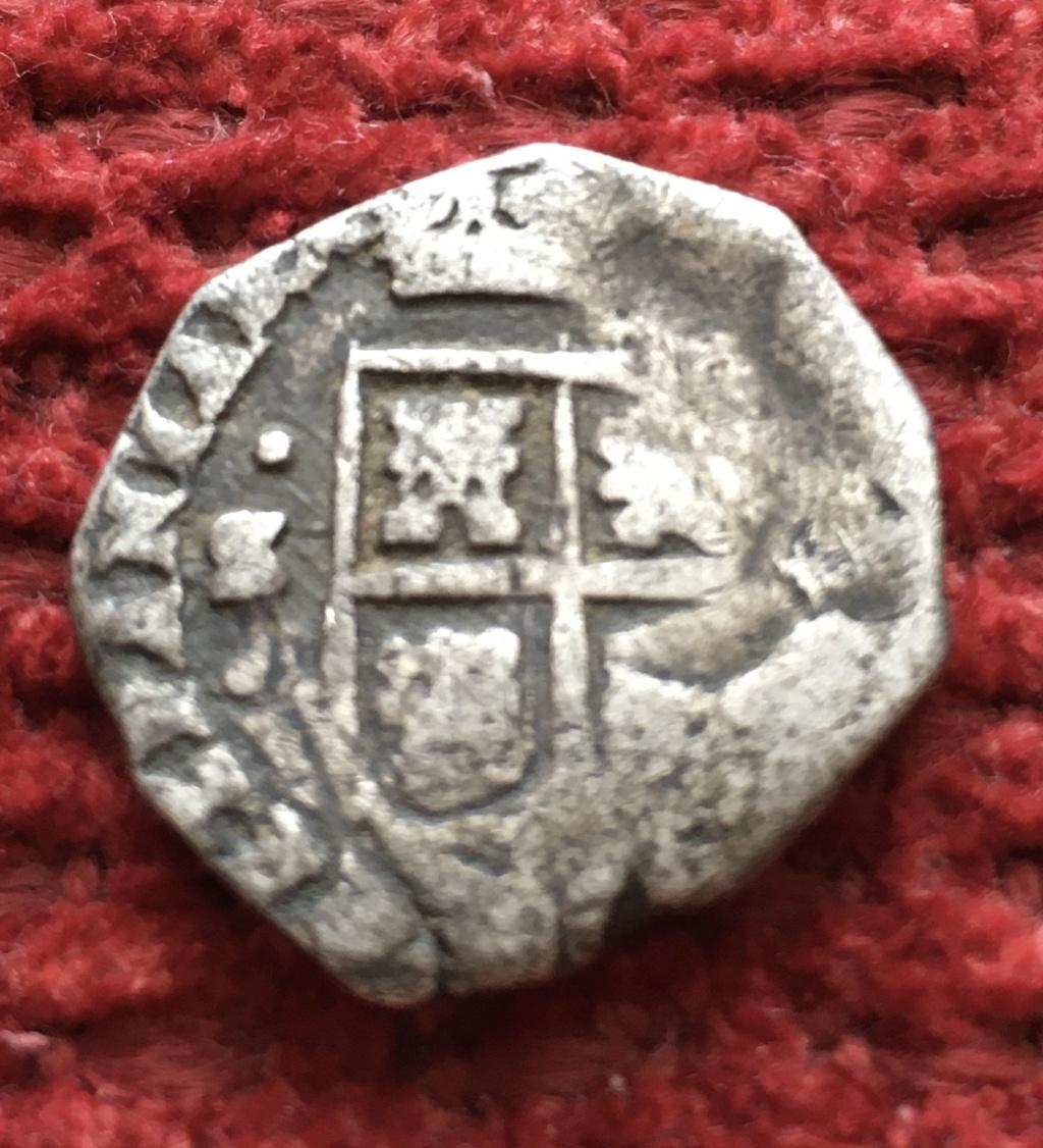 2 reales sevillanos Carlos II tipo María  70b60a10
